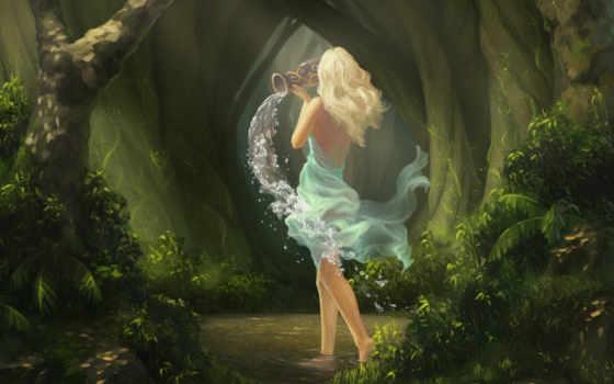 лес, fantasy, фея