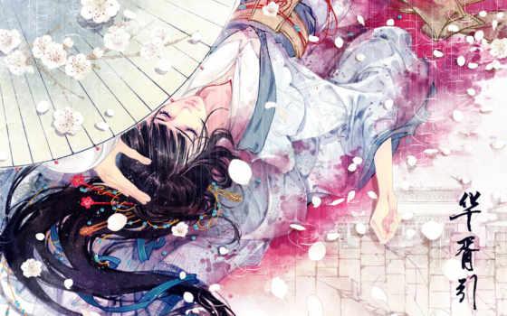 гейши, девушка, кимоно