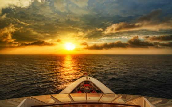 ocean, land, корабль, самолёт, шар, графика, город, море, путешествия, круизы, янв,