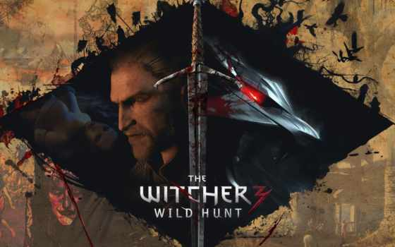 ведьмак, wild, hunt Фон № 51004 разрешение 1920x1080