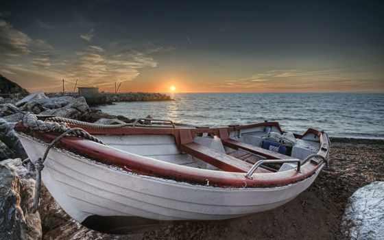 лодка, desktop, free, лодка,