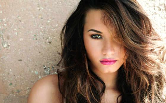 lips, брюнеток, макияж, eyes, demi, lovato, mới,