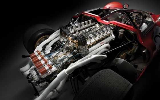 ferrari, engine, am, классическое,
