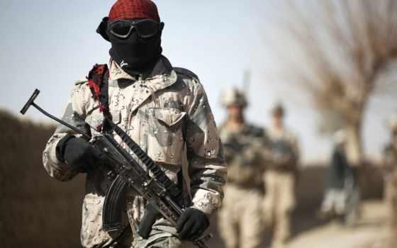 камуфляж, солдат, оружие, очки, patrol,