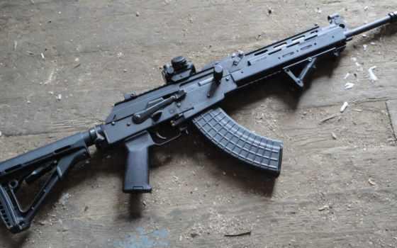 винтовка, assault, калашников, black, машина, 与akm中, weapons,