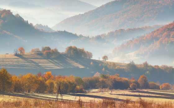 гора, landscape, new, деревня, назад, добавить