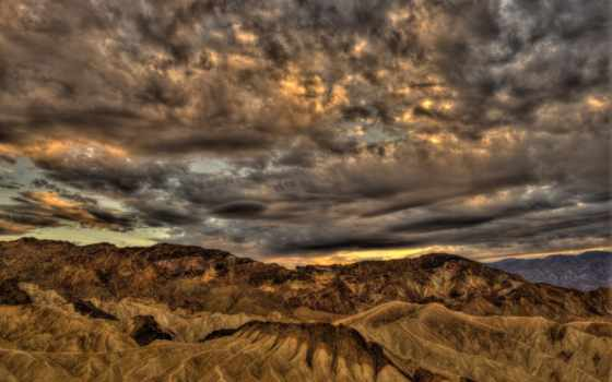 смерть, долина, hdr, desrt, park, national, california, ди, mesquite, states,