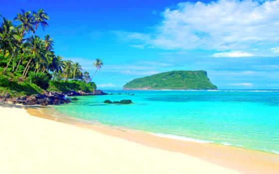 tropics, пляж, praia, paisagem, мар, самоа, parede, море, browse, gifs,