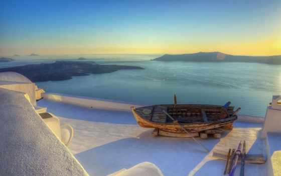 greek, пляжи, песком, santorini, travel, море, греции, путешествия, galea,
