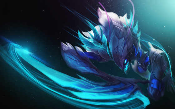 zix, kha, смерть, лепестки, deathblossomkha, league, skin, art, lolwallpapers,