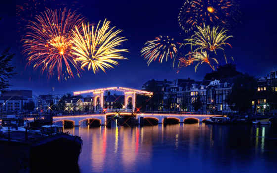 салют, fireworks, праздник