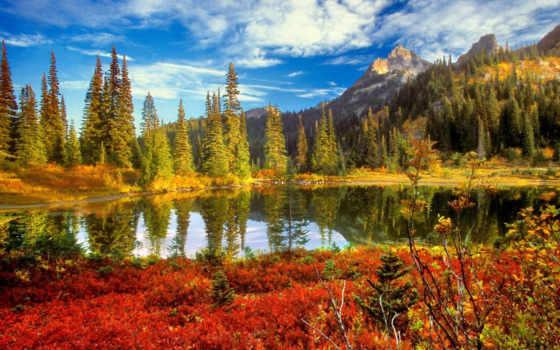 горное озеро Фон № 71220 разрешение 1600x1200