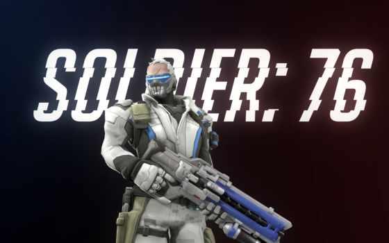 overwatch, солдат, games,