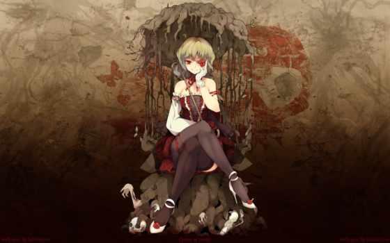 anime, девушка, desktop, kazami, yuuka, art, аватары,
