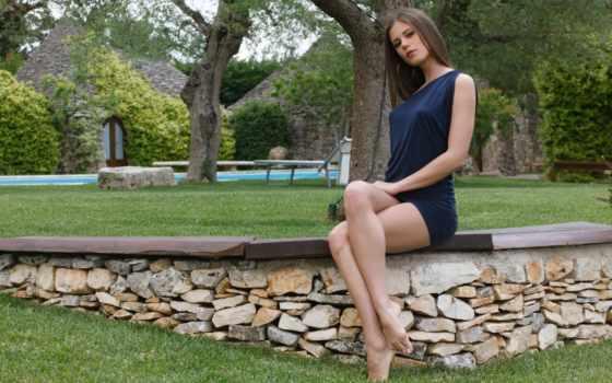ноги, красивые, девушек, devushki, nog, красивых, девушка, brunette, красивыми, ногами, women,