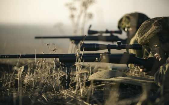 снайпер, оружие, трава, police,