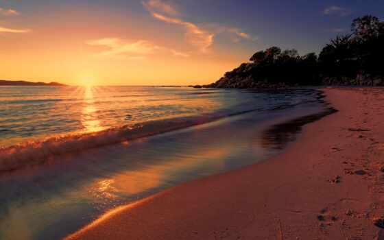 пляж, море, закат, побережье, vodyt, permission, landscape, favorite