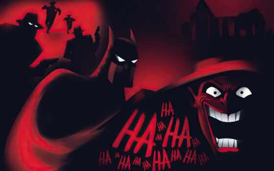 batman, animate, серия, artwork, фон, art, анимация