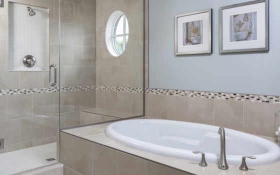,ванная, умывальник, зеркала, картины, кран,