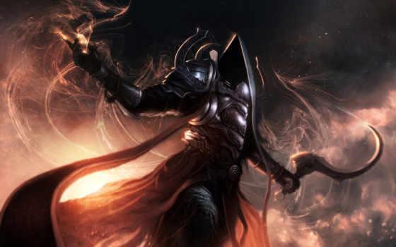 diablo, sfondi, reaper, ecran, souls, pantalla, intero, free, смерти, iii,