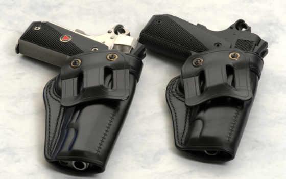 пистолет, оружие, кобура, weapons, два, colt