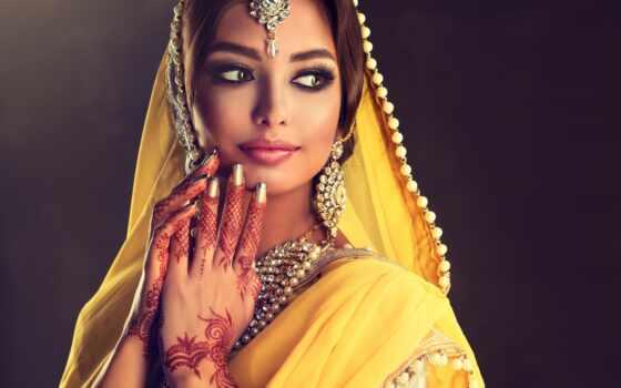 indian, макияж, девушка, стиль, поза, платье, sofia, zhuravec, фото
