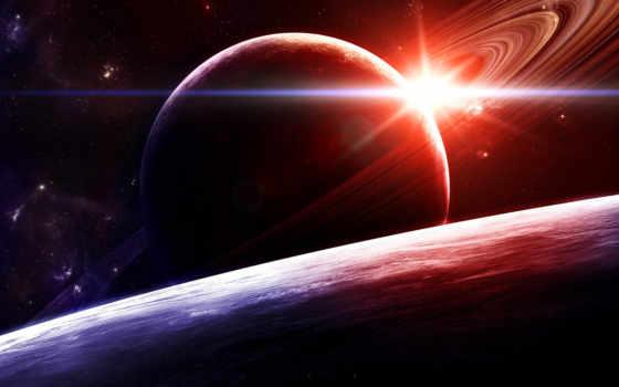 космоса, графика, красивые