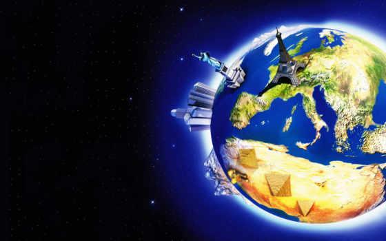 планета, звезды Фон № 12909 разрешение 1920x1200