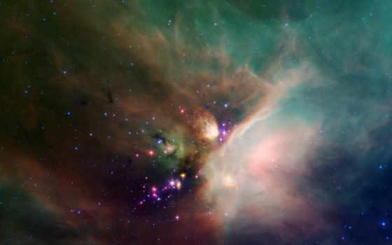 туманность, созвездие, звездообразование, змееносец, stars, rho, ophiuchi, cloud, смотрите,