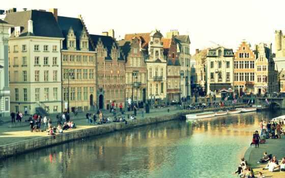 gent, город, бельгия