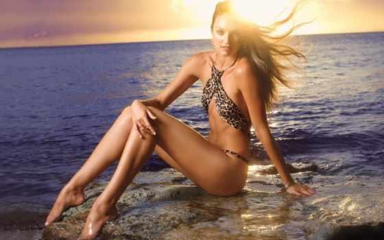 груди, очень, девушек, пляж, zero, candice, красивых, купальникs, devushki, модели, swanepoel,