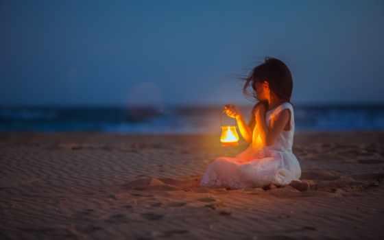 chart, пляж, девушка, lantern, mix, боль, play