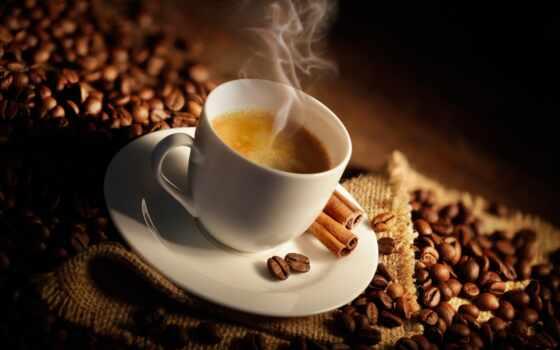 coffee, cup, корица, steam, seed, cinnamon, запах,