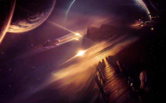 galaxy, космос, шпиль, пирамида, euphoria, return, hard, будущее