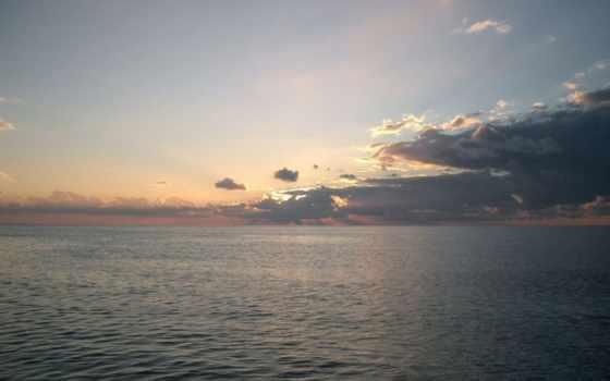море, катере, прогулка