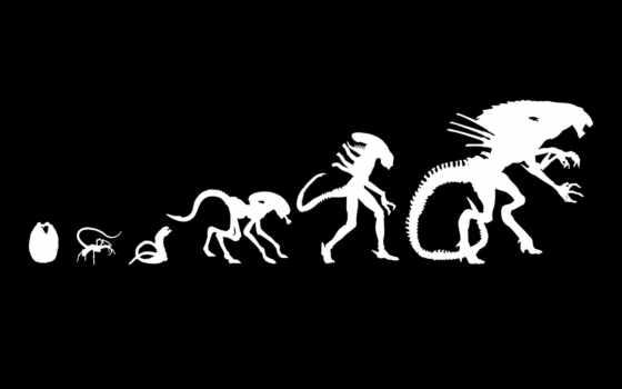 evolution, alien
