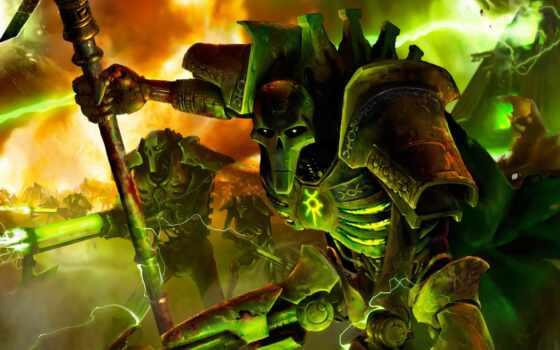 warhammer, crusade, широкоформатные, некроны, dark, necron,