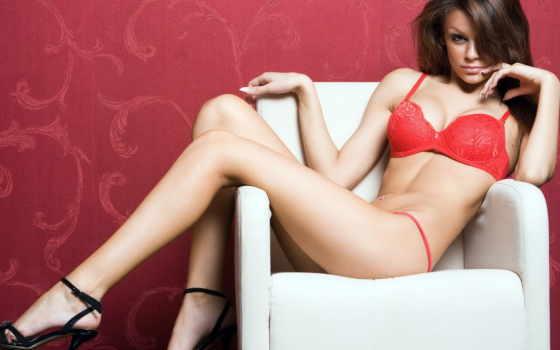 devushki, девушка, красном, пирсинг, girls, разное, кресло, пупке, модель, everything,