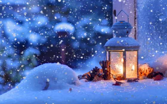 снег, год, christmas, new, winter, снега, картинку, хойники, lantern, праздники,