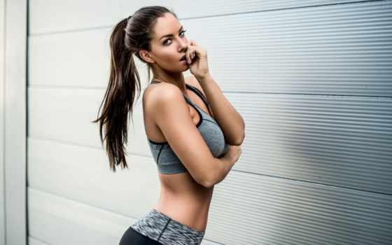 фитнес, девушка, спортсменка, рисунок, janna, breslin, коллекция, модель, девушек, лицо, atelier,