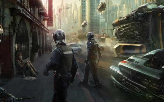 cyberpunk, миро, futurism, два, день, techno, карбон, alter, будущее