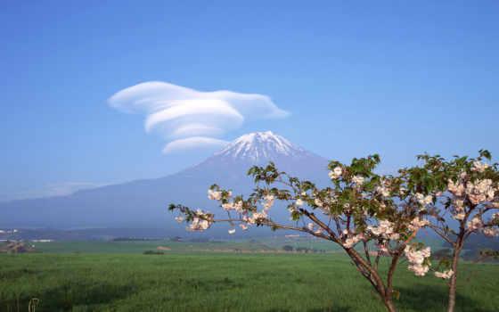 горы, fuji
