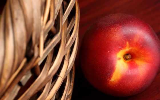 персики, фрукты, коллекция,