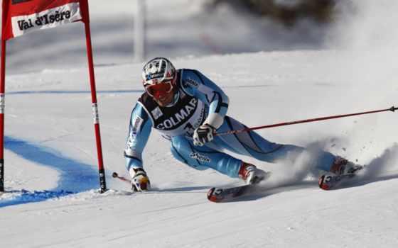 аксель, лыжи