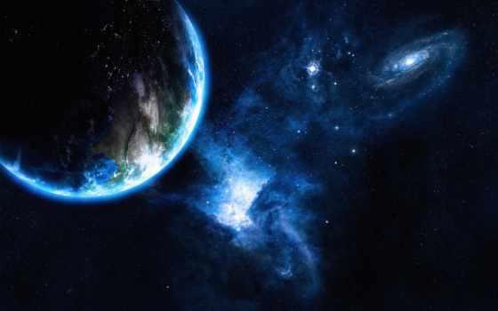 cosmos, planet, звезды Фон № 142081 разрешение 1920x1200