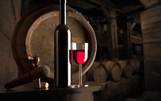 вино, бутылка, glass, зажигания, красное, polki, бочки, бочонки, пыль,