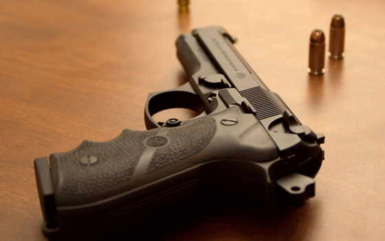 пистолет, оружие, макро, фоны, пули, патроны, картинка, категории, weapons,