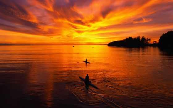 вечер, закат, вечера, темы, разные, изображения, небо, море, текстуры, морские, природы,