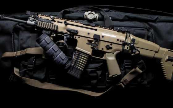 шрам, винтовка, оружие, assault, assaul, машина,