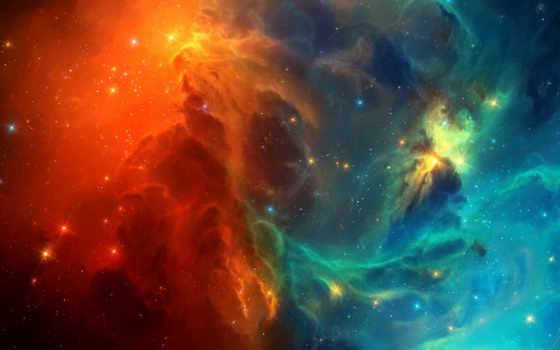 cosmic, nebula